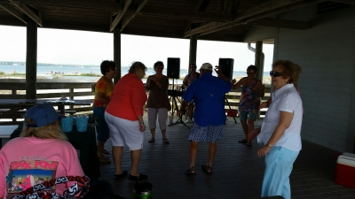 Had A GREAT Time Today Performing for The Gulf Coast Friends over on Navarre Beach. Very Nice Folks and had some great BBQ. Special Thanks to Bonnie for referring us to Gail...4-26-15