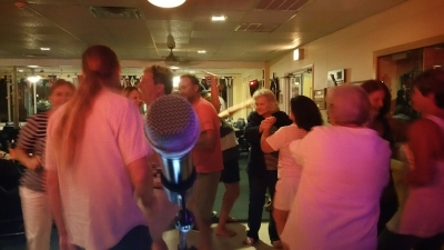 Dancers At Fort Walton Yacht Club 5-1-15
