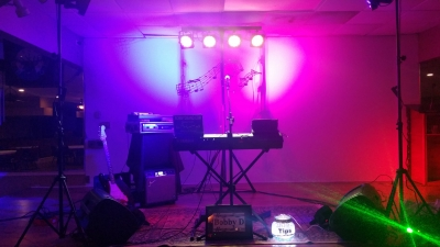 Stage Set Up Elks Lodge 3-11-16