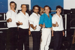 1989 Dale Babin, Johnny Dispensire, Bobby D. Shane Kling, Jimmy Millet