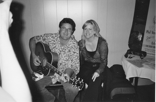 with Vince Gill.
