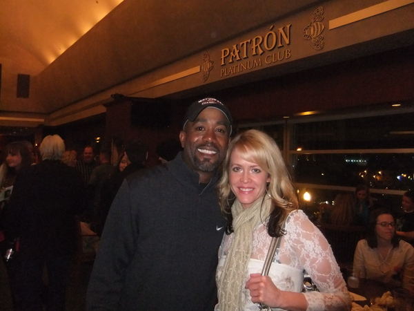 with Darius Rucker