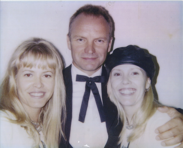with Sting and Susan Bessire.