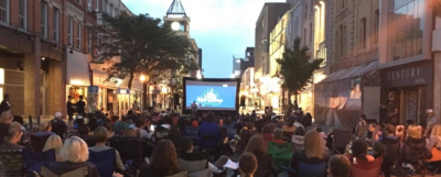 Movie in the Street Event