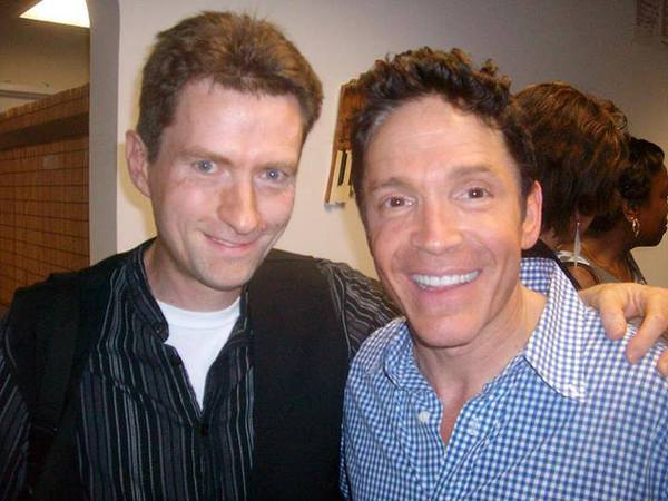 With Dave Koz.