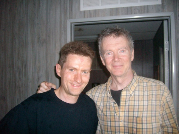 With Peter White.