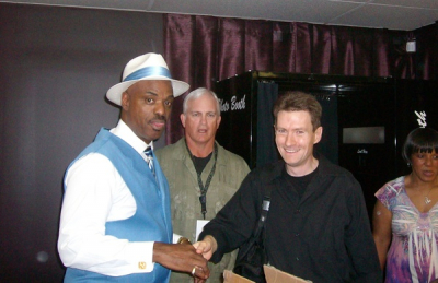 With Nick Colionne.