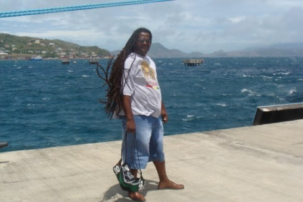 St. Kitts - Windy day