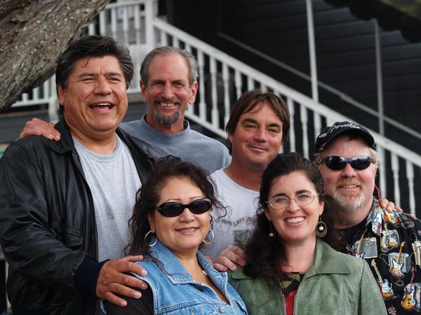 Dan H, Bill Smith,  Jane, Rick Pieper, Kate and Chris Daniel (2005)