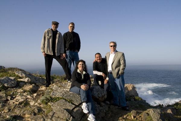 Bill, Ian McFadden, Kate, Rick and Chris