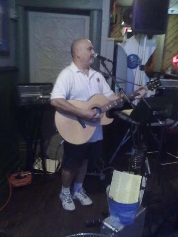 Performing at Olde Tyme Inn in Sandwich, IL