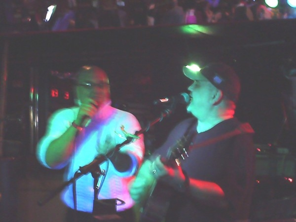 My brother Ty and I performing in Windsor.
