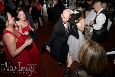 Groom got moves