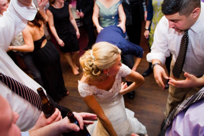 Bride got some dance moves