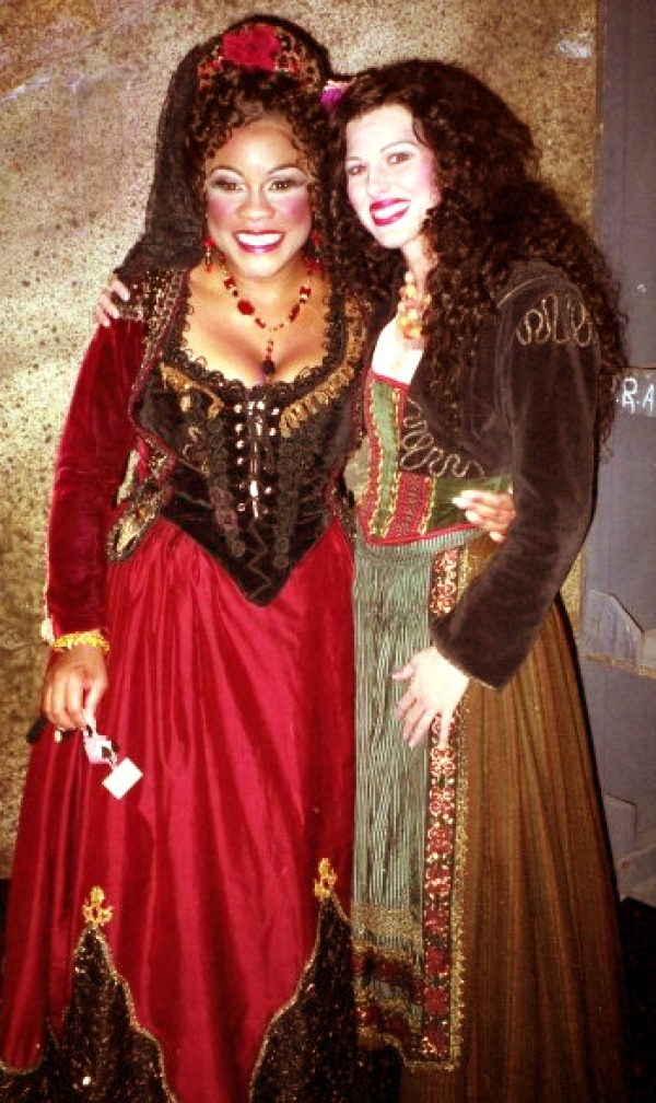 <p>&nbsp;With Ms. Denyce Graves, Orlando Opera production of 'Carmen'.</p>