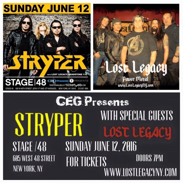 Direct Support for Stryper