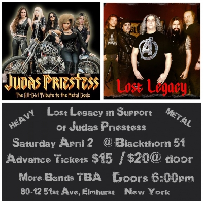 Direct Support for Judas Priestess