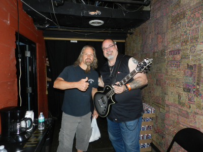 JP with Bobby Jarzombek