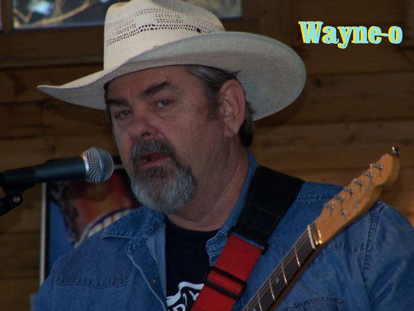 Wayne-o SINGIN AND PICKIN AT 11TH STREET COWBOY BAR IN BANDERA! IT'S ALWAYS KOOL TO PLAY THE BIG STAGE @ 11TH STREET!