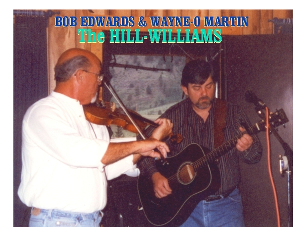 First Jamm of Bob Edwards + Wayne Martin  later to become THE HILLWILLIAMS Duo / in Creede Colorado......2001