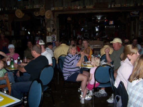 ONCE A MONTH FOR 17 YEARZ WE PLAYED TEXAS 46 Bar & Grill UNTIL IT CLOSED after the death of the owner, Gary Stebbens. THE LSP BAND ENJOYED MANY FUN NIGHTS @ 46! This is another Saturday night at Texas 46 and as usual, when the LONE STAR PICKERZ played...i
