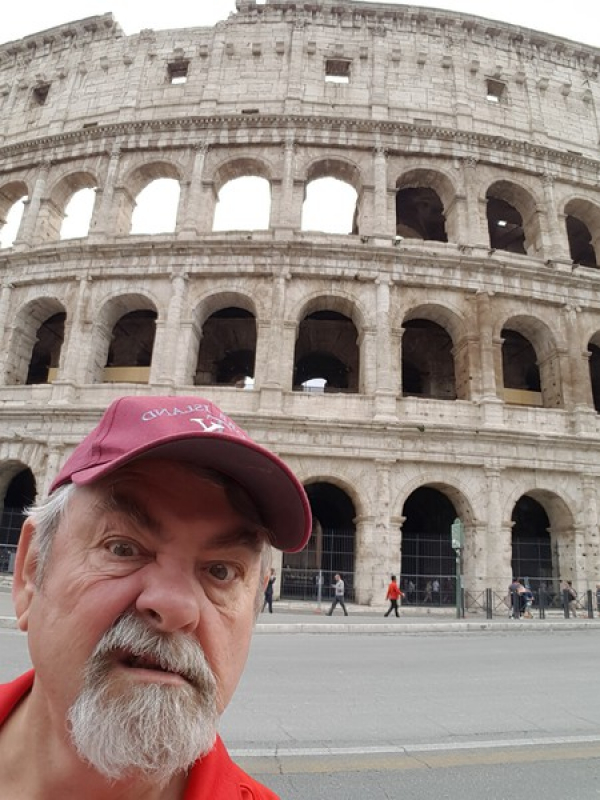 WHEN IN ROME, GET A GLADIATOR ATTITUDE!