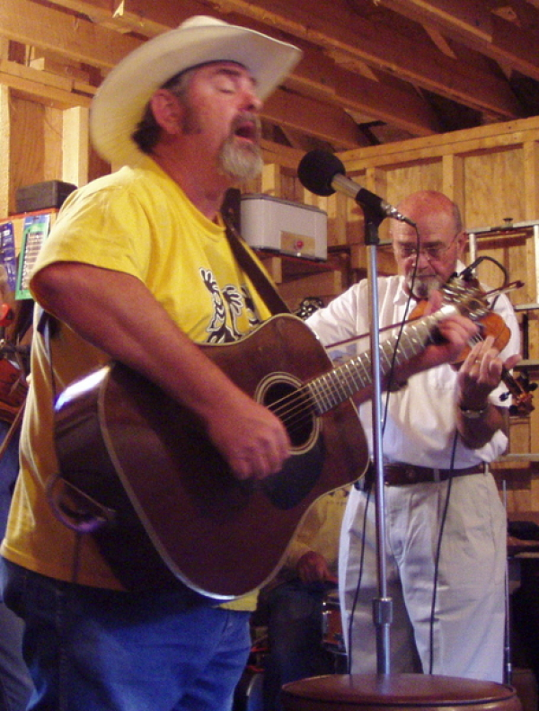 Wayne-o & Bob Edwards~ THE HILL WILLIAMS in Creede Colorado   Bob is gone now, but he is enshrined in the California Western Swing Hall of Fame!  This OKIE  created some verrrry SWEEEEET sounds from that fiddle!  Our DUO lasted 6 years and we were BROTHER