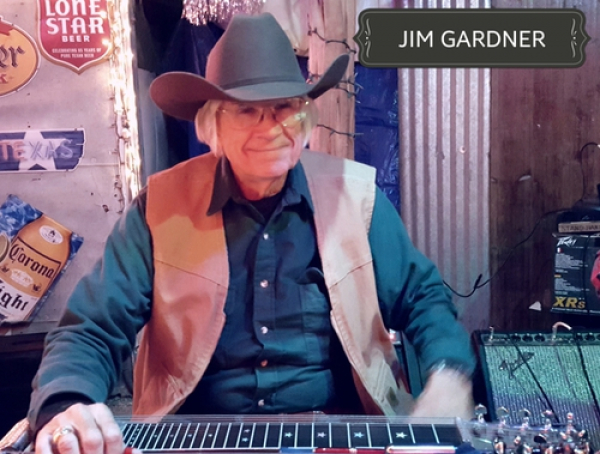 This  Beeville Texas native is a terrific steel guitar player as well as Guitar player.  Jim is also a retired Corporate pilot and Concealed gun license certification classes!  Jim joined the band in November 2017.  We are glad he did!