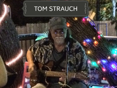 LIGHTING UP ANY PARTY...TOM STRAUCH!