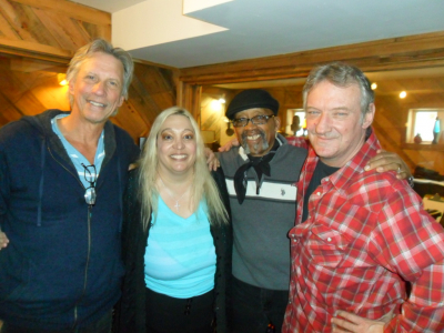 John Sheldon,Susan Angeletti,Billy Arnold and Mike Bliss in the Recording Studio.