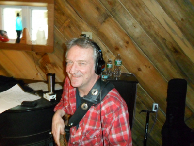 Mike Bliss at Shoestring Studios