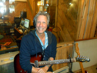 John Sheldon at Shoestring Studios