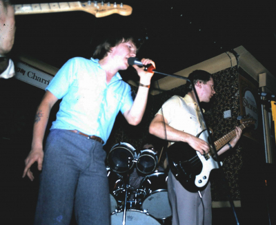 First ever gig! Under The Ice, Lord Brooke, Walthamstow, September 1982