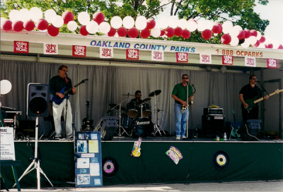Joe Nagrant with Opies Dream - Woodward Dream Cruise 1999