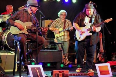 W.C. Clark, Jim Ohlschmidt and Chris Aaron