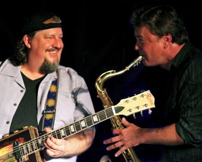 Chris Aaron and Tom Sobel