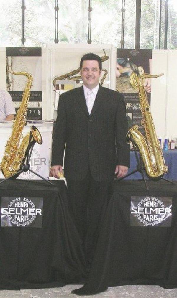 <p>14th World Saxophone Congress</p> <p>Selmer Booth</p> <p>Ljubljana, Slovenia</p> <p>2006</p>
