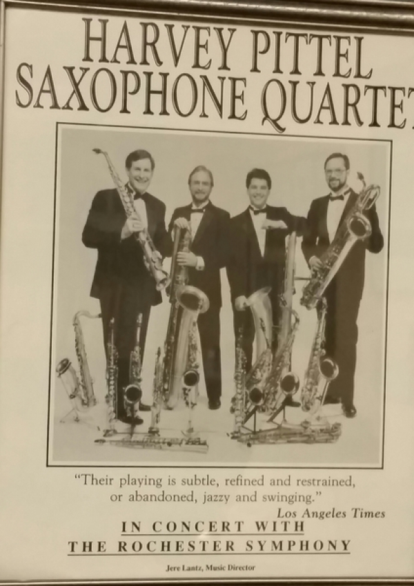 <p>Flyer for Guest Artist appearance with the Rochester, Minnesota Symphony </p> <p>1993</p>