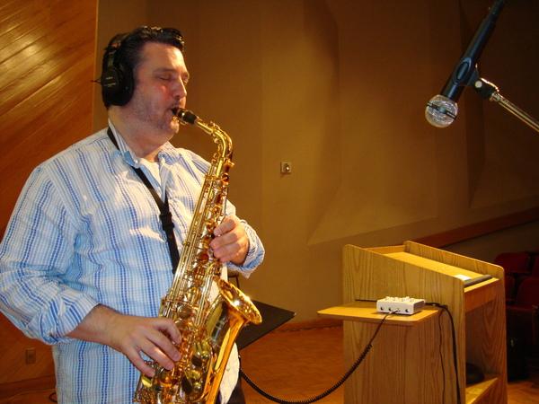 <p>Recording Session for Synaesthesia Solo Album</p> <p>Texas State University School of Music</p> <p>2013</p>