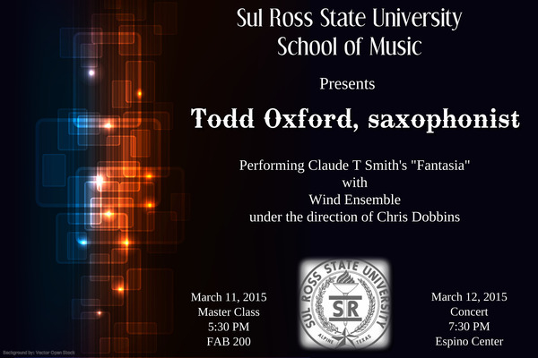 <p>Guest Soloist with Wind Ensemble</p> <p>2015</p>