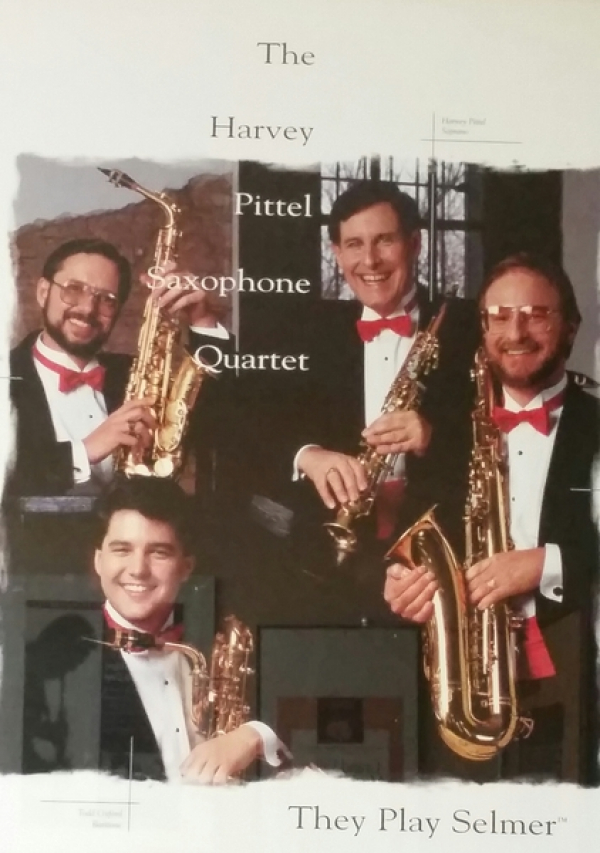 <p>Marketing Poster produced by Selmer Saxophones </p> <p>1992</p>
