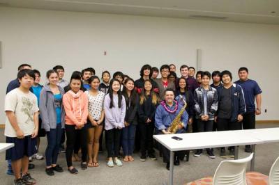 <p>Master Class - Hawaii Saxophone Foundation </p> <p>2015</p>