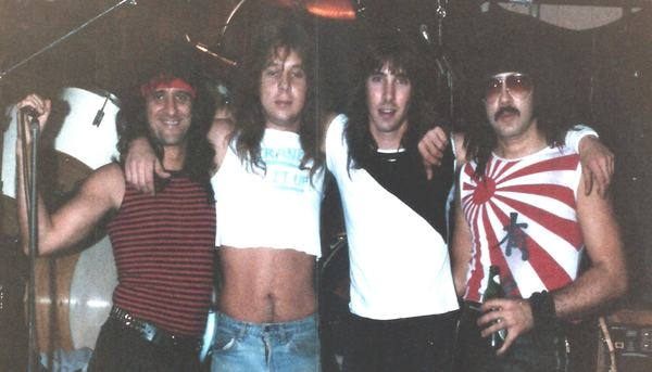 Paul, Billy, Chris, Tazz The Assault Band