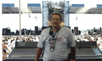 Mark Rednour, a great and talented sound engineer and close friend whom I've had lots of good times working with.