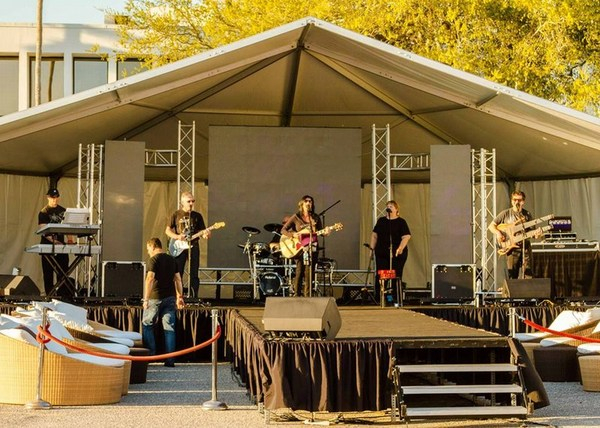 Soundcheck for Chillounge Sarasota