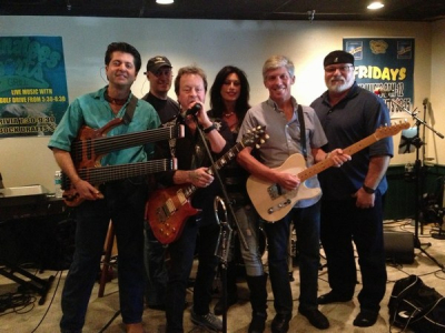 Backing rock legend Rick Derringer