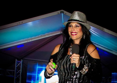 Sheri Loves to Rock the Big Chillounge Stage