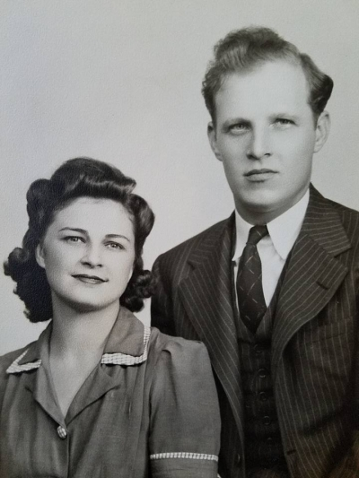 Mylber and Louellen Clark (my beloved parents)