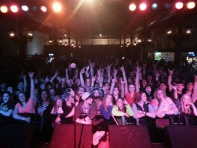 Crowd Photo by Cameron at Lazerfest Battle of the Bands 2014