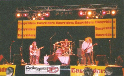 Cottonmouth performing on the Easyriders Magazine Winter Bike Show Tour 2003